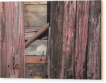 Wood Print featuring the photograph Wood And Rod by Karol Livote