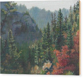 Woodland Wonder Wood Print