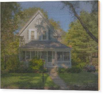 Wooster Family Home Wood Print
