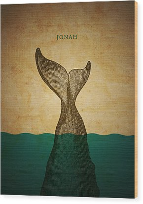Wordjonah Wood Print by Jim LePage