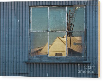 Wood Print featuring the photograph Work View 1 by Werner Padarin
