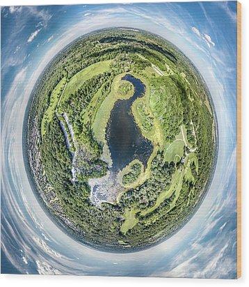 Wood Print featuring the photograph World Of Whitnall Park by Randy Scherkenbach