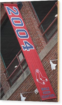 World Series Champs Wood Print by Greg DeBeck