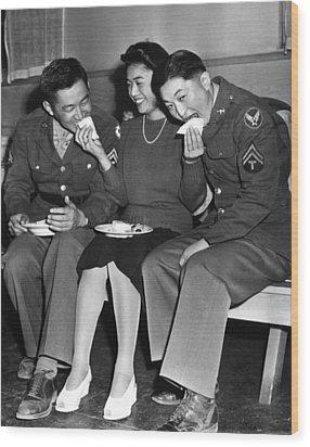 World War II, Corporal Frank N Wood Print by Everett