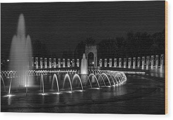 World War II Memorial Wood Print