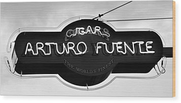 Worlds Finest Cigar Wood Print