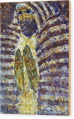 Worship B Wood Print by Valeriy Mavlo
