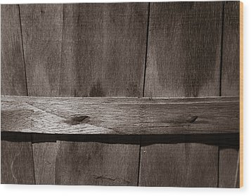 Wood Print featuring the photograph Woven Wood by Chris Bordeleau