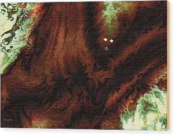 Wraith Wood Print by Paula Ayers