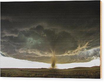 Wray Colorado Tornado 060 Wood Print