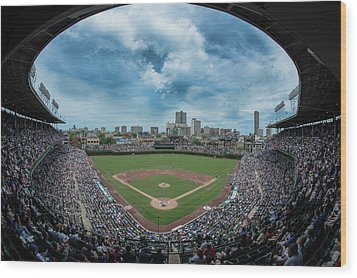 Wrigley Color Wood Print