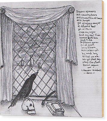 Writer's Veiw Wood Print