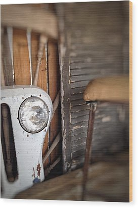 Wood Print featuring the photograph Wrong Turn by Olivier Calas