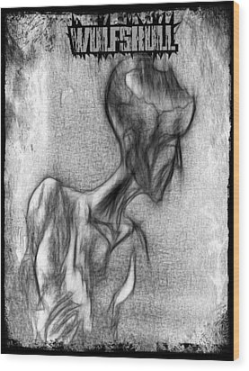 Wulfskull#3 Wood Print