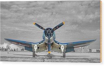 Ww II Fighter Plane 2 Wood Print