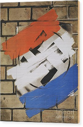 Wwii: Anti-nazi Poster, 1944 Wood Print by Granger