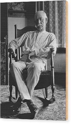 Wyatt Earp 1923 - Los Angeles Wood Print