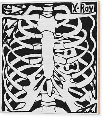 X-ray Maze Wood Print by Yonatan Frimer Maze Artist