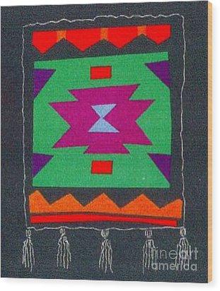 Xenobia Wood Print
