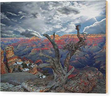 Yaki Point Grand Canyon Wood Print