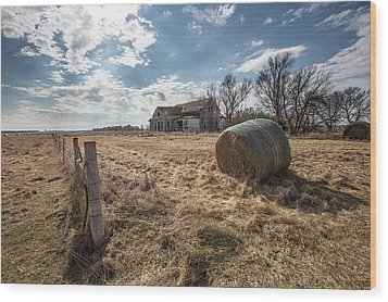 Wood Print featuring the photograph Yale by Aaron J Groen