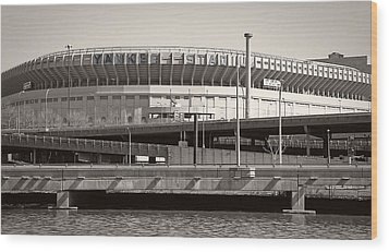 Yankee Stadium    1923  -  2008 Wood Print by Daniel Hagerman