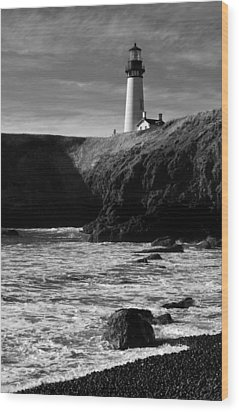 Yaquina Head Lighthouse Wood Print