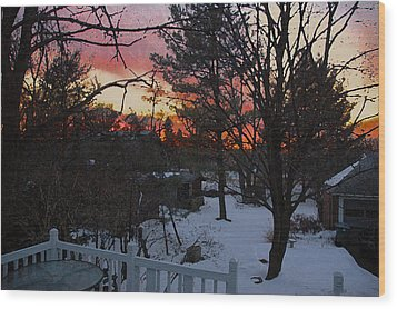Year's End Two Thousand Ten Wood Print