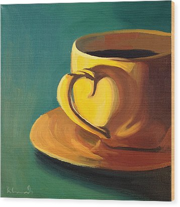 Yellow Java Wood Print by Nathan Rhoads