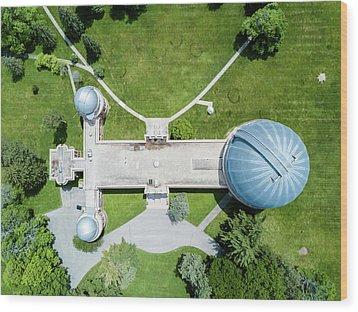Wood Print featuring the photograph Yerkes Observatory by Randy Scherkenbach