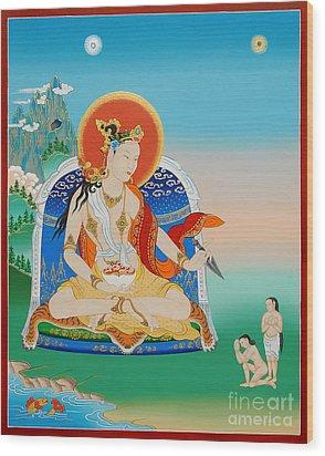 Yeshe Tsogyal Wood Print