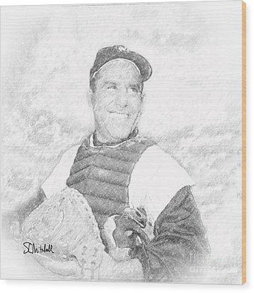 Yogi Wood Print