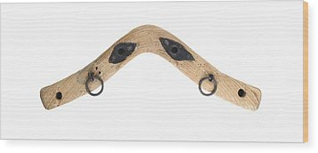 Wood Print featuring the photograph Yoke - Part Of Harnesses For The Draft Animals by Michal Boubin