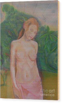 Yolande Wood Print by Neil Trapp
