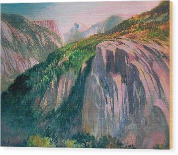 Yosemite Wood Print by Don Getz