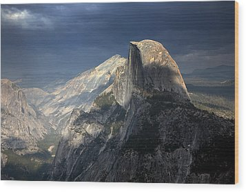 Yosemite National Park Wood Print by Chuck Kuhn