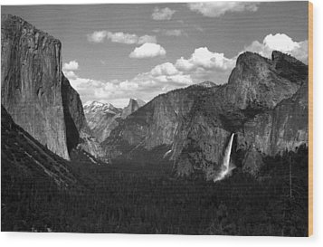Wood Print featuring the photograph Yosemite National Park  by Emanuel Tanjala