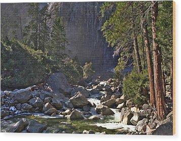 Yosemite Wood Print by Paul Owen