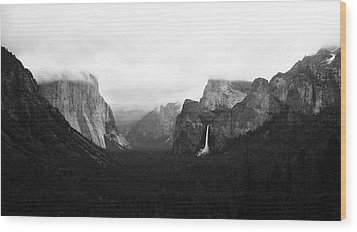 Yosemite Wood Print by Ricky Sandoval
