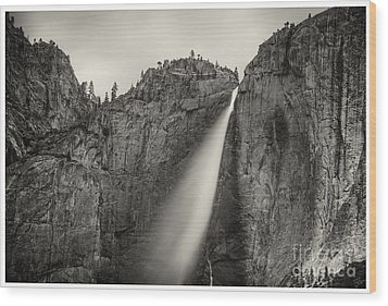 Yosemite Waterfall #2  Wood Print