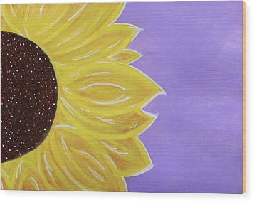 You Are My Sunshine Wood Print by Cyrionna The Cyerial Artist