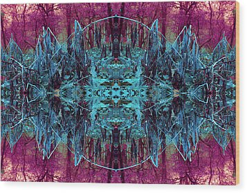 You Are The Frequency Wood Print