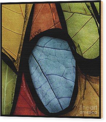 You Especially Wood Print by Shevon Johnson