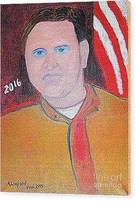 Jeb Bush 1 Wood Print by Richard W Linford