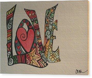 Your Big Heart Wood Print