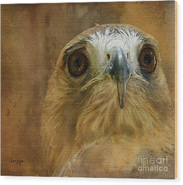 Your Majesty Wood Print by Lois Bryan