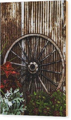 Zahrada Wood Print