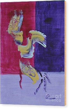 Zanardi Wood Print by Lynda Cookson