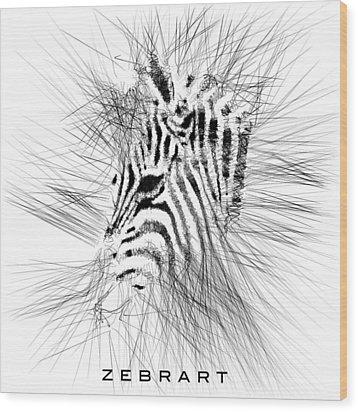 Zebrart Wood Print