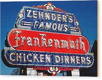 Zehnder's Frankenmuth Michigan Wood Print